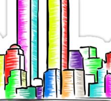 Skyline - New York Sticker