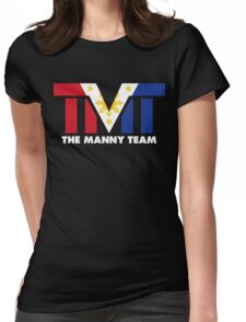 The Manny Team Filipino Flag TMT by AiReal Apparel Womens Fitted T-Shirt