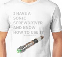 Sonic Screwdriver Unisex T-Shirt