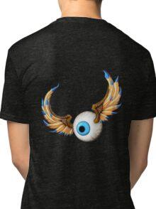 flying eyeball Tri-blend T-Shirt