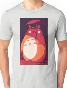 Totoro in the rain Unisex T-Shirt