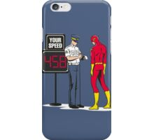 Funny flash iPhone Case/Skin