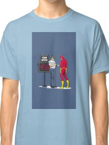 Funny flash Classic T-Shirt