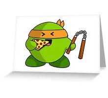Ninja  snack Greeting Card