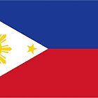 Sun and Stars Flag of the Philippines by AiReal by airealapparel