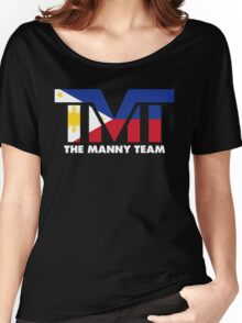 The Manny Team Filipino Flag TMT by AiReal Apparel Women's Relaxed Fit T-Shirt