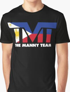 The Manny Team Filipino Flag TMT by AiReal Apparel Graphic T-Shirt