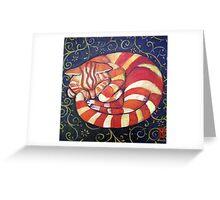 Sandy's 16hr nap Greeting Card