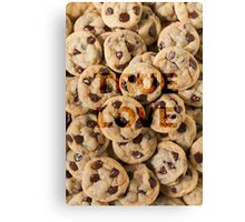 Cookies lover Canvas Print