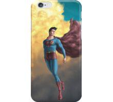 Retro Superman  iPhone Case/Skin