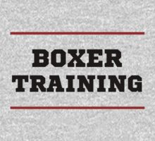 Boxer training by Calliste