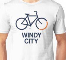 Bike Windy City (v1) Unisex T-Shirt