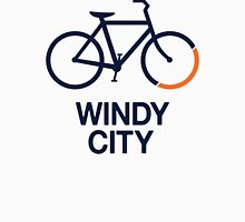 Bike Windy City (v1) Unisex T-Shirt