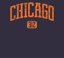 Chicago 312 (Orange Print) Unisex T-Shirt