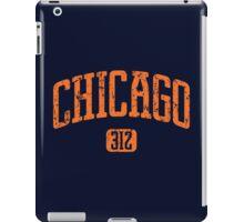 Chicago 312 (Orange Print) iPad Case/Skin