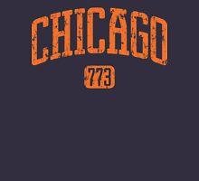 Chicago 773 (Orange Print) Unisex T-Shirt