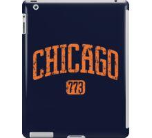 Chicago 773 (Orange Print) iPad Case/Skin