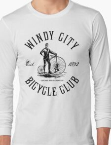 Chicago Bicycle Club Long Sleeve T-Shirt