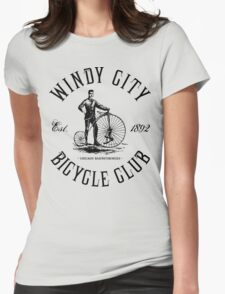 Chicago Bicycle Club Womens Fitted T-Shirt