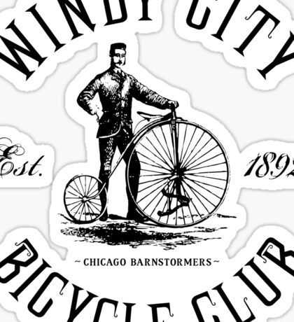 Chicago Bicycle Club Sticker