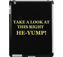 Neon Joe-- at this right he-yump iPad Case/Skin