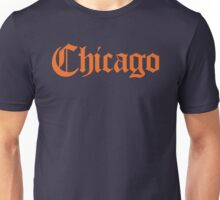 Chicago Gothic (Orange Print) Unisex T-Shirt