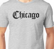 Chicago Gothic (Black Print) Unisex T-Shirt