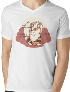 Arcedoge Mens V-Neck T-Shirt