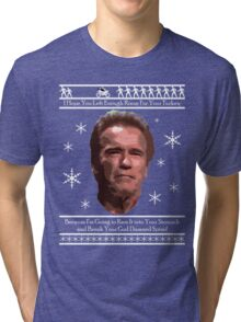 Arnold Christmas - Room for Turkey Tri-blend T-Shirt