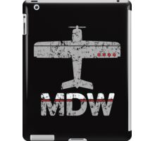 Fly Chicago MDW Airport iPad Case/Skin