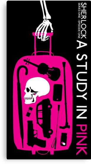 Sherlock - A Study in Pink Episode Poster by Toadvine & Taylor
