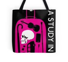 Sherlock - A Study in Pink Episode Poster Tote Bag