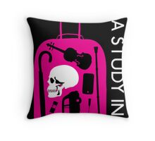 Sherlock - A Study in Pink Episode Poster Throw Pillow