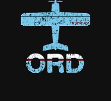Fly Chicago ORD Airport Unisex T-Shirt
