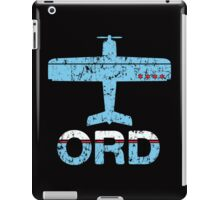 Fly Chicago ORD Airport iPad Case/Skin