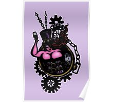 BBW - Buxom Steampunk Tart (colour version) Poster