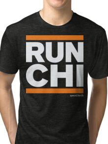 Run Chicago (v1) Tri-blend T-Shirt