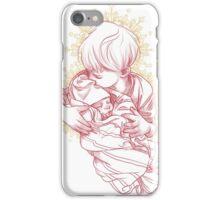 Boy with Newborn  iPhone Case/Skin