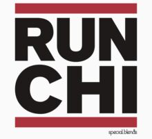 Run Chicago (v3) Kids Tee