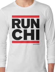 Run Chicago (v3) Long Sleeve T-Shirt