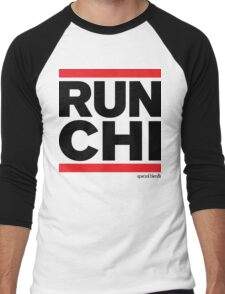 Run Chicago (v3) Men's Baseball ¾ T-Shirt