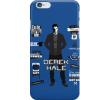 Derek Hale Quotes Teen Wolf iPhone Case/Skin