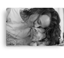 Beloved Boy Gumbo Canvas Print