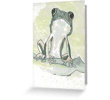 Ribbit, ribbit!    Greeting Card