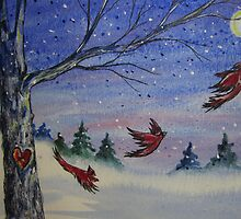 Redbird Moon by Jeanne Vail