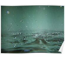 Under water surface picture artistic - Mille Bolle Poster