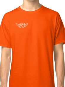 SKT T1 simple white logo (right chest) Classic T-Shirt