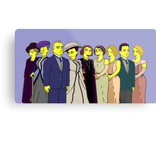 Downton Abbey - Cast of Nine Metal Print