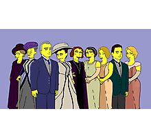 Downton Abbey - Cast of Nine Photographic Print