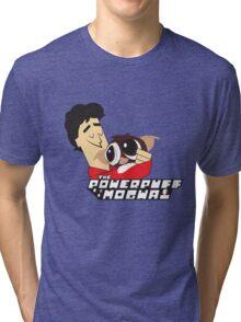 Powerpuff Mogwai Tri-blend T-Shirt